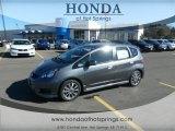 2013 Polished Metal Metallic Honda Fit Sport #75562242