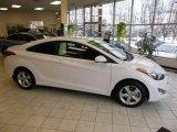 2013 Monaco White Hyundai Elantra Coupe GS #75570405