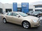 2008 Sandstone Metallic Chevrolet Malibu LT Sedan #75570379