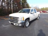2013 White Diamond Tricoat Chevrolet Silverado 1500 LT Crew Cab 4x4 #75570577