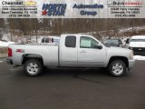 2013 Silver Ice Metallic Chevrolet Silverado 1500 LT Extended Cab 4x4 #75570376