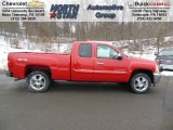 2013 Victory Red Chevrolet Silverado 1500 LT Extended Cab 4x4 #75570374