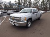 2013 Silver Ice Metallic Chevrolet Silverado 1500 LT Extended Cab #75570573