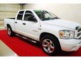 2008 Bright White Dodge Ram 1500 Sport Quad Cab #75570261
