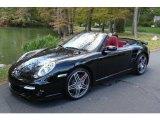 2008 Black Porsche 911 Turbo Cabriolet #751699