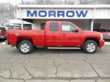 2013 Victory Red Chevrolet Silverado 1500 LT Extended Cab 4x4 #75570248