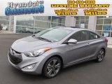 2013 Titanium Gray Metallic Hyundai Elantra Coupe SE #75570137