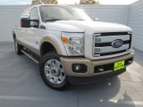 2012 Oxford White Ford F250 Super Duty King Ranch Crew Cab 4x4 #75570440