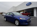 2013 Deep Impact Blue Metallic Ford Fusion SE #75570323
