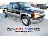 2003 Black Chevrolet Silverado 1500 Z71 Extended Cab 4x4 #75570506