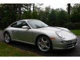 2007 Arctic Silver Metallic Porsche 911 Carrera 4S Coupe #751716