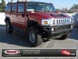 2003 Red Metallic Hummer H2 SUV #75612009