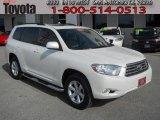 2010 Blizzard White Pearl Toyota Highlander SE #75611868