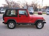 1994 Jeep Wrangler Poppy Red