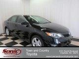 2012 Attitude Black Metallic Toyota Camry SE #75612257