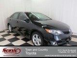 2012 Attitude Black Metallic Toyota Camry SE #75612256