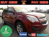 2010 Cardinal Red Metallic Chevrolet Equinox LS #75612387