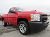 2013 Victory Red Chevrolet Silverado 1500 Work Truck Regular Cab #75612123