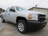 2013 Chevrolet Silverado 1500 Work Truck Crew Cab Data, Info and Specs