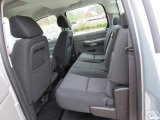2013 Chevrolet Silverado 1500 Work Truck Crew Cab Rear Seat