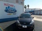 2013 Violet Gray Ford Fiesta S Sedan #75611851