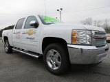 2013 Summit White Chevrolet Silverado 1500 LT Crew Cab #75612119