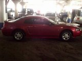 2001 Laser Red Metallic Ford Mustang V6 Coupe #75611982