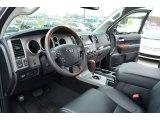 2013 Toyota Tundra Platinum CrewMax Black Interior