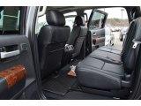 2013 Toyota Tundra Platinum CrewMax Rear Seat