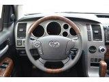 2013 Toyota Tundra Platinum CrewMax Steering Wheel