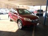 2011 Tango Red Pearl Honda CR-V EX-L 4WD #75612241