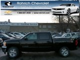 2013 Black Chevrolet Silverado 1500 LT Crew Cab 4x4 #75612479