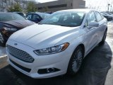 2013 White Platinum Metallic Tri-coat Ford Fusion Titanium AWD #75611952