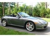 2008 Meteor Grey Metallic Porsche 911 Carrera S Cabriolet #751511