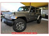 2013 Billet Silver Metallic Jeep Wrangler Unlimited Rubicon 4x4 #75612217