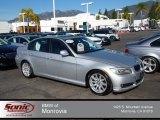 2010 Titanium Silver Metallic BMW 3 Series 328i Sedan #75612080