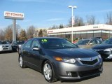 2010 Polished Metal Metallic Acura TSX V6 Sedan #75612069