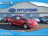 2013 Volcanic Red Hyundai Elantra Coupe GS #75611904