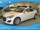 2013 White Satin Pearl Hyundai Genesis Coupe 2.0T #75611903