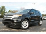 2011 Ebony Black Ford Explorer XLT #75612303