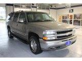 2001 Light Pewter Metallic Chevrolet Suburban 1500 LT 4x4 #75611748