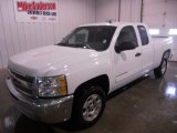 2013 Summit White Chevrolet Silverado 1500 LT Extended Cab #75670073
