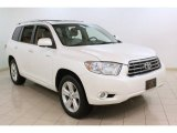 2010 Blizzard White Pearl Toyota Highlander Limited 4WD #75669820