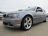 2004 Silver Grey Metallic BMW 3 Series 325i Coupe #75669938