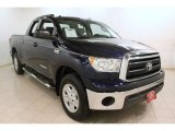 2010 Nautical Blue Metallic Toyota Tundra Double Cab 4x4 #75669811
