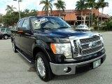 2010 Tuxedo Black Ford F150 Lariat SuperCrew #75669428