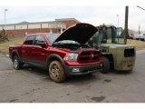 2010 Inferno Red Crystal Pearl Dodge Ram 1500 TRX4 Crew Cab 4x4 #75669909