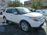 2013 White Platinum Tri-Coat Ford Explorer Limited 4WD #75669519