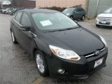 2012 Tuxedo Black Metallic Ford Focus SEL 5-Door #75669401