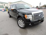 2011 Ebony Black Ford F150 Platinum SuperCrew #75669649